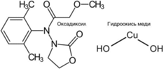 Химическая формула Оксихом